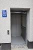 Ліфт Izamet, вихід на вулицю